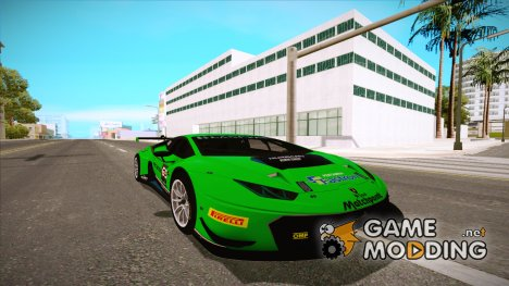 2015 Lamborghini Huracan 610-4 GT3 for GTA San Andreas