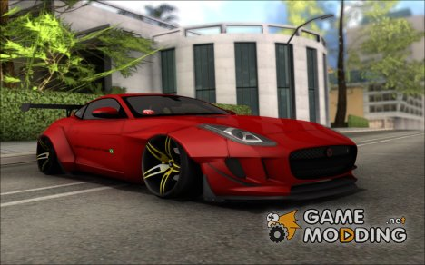 Jaguar F-Type L3D Store Edition для GTA San Andreas