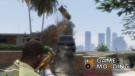 Vehicle Cannon 2.0 for GTA 5