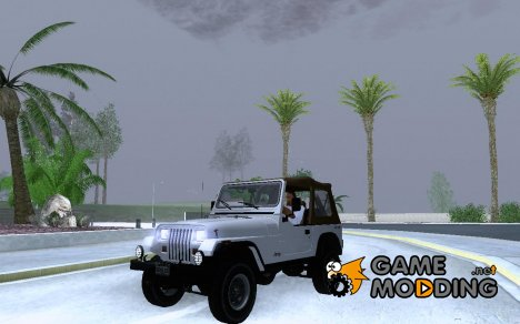 Jeep Wrangler Convertible for GTA San Andreas
