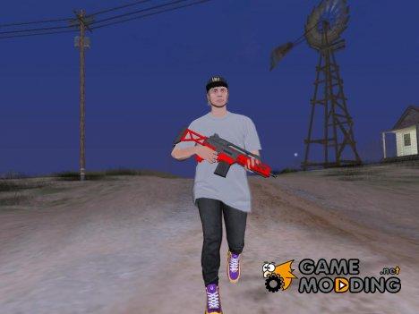 Оригинальные анимации GTA V Online для GTA San Andreas