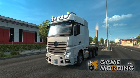 Mercedes MP4 4163 SLT Upgrade for Euro Truck Simulator 2