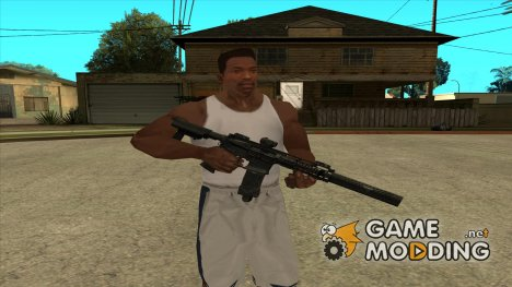 Noveske Silenced из Contract Wars for GTA San Andreas