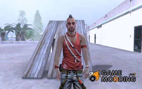 Ваас из Far Cry 3 для GTA San Andreas