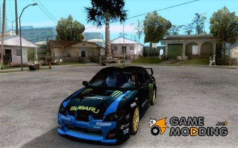 Subaru Impreza WRC STI 2007 Ken Block для GTA San Andreas