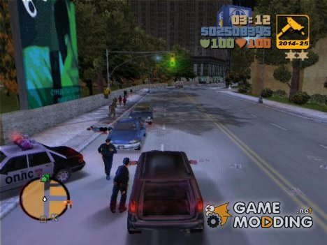 Блокировка дверей для GTA 3
