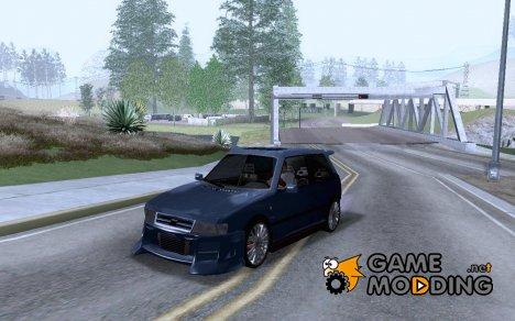 Fiat Uno Tuned для GTA San Andreas