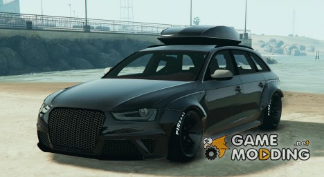 Audi RS4 Avant (LibertyWalk) для GTA 5