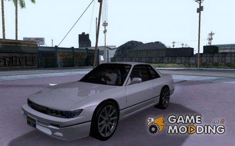 Nissan Silvia S13 RB26DETT Black Revel для GTA San Andreas
