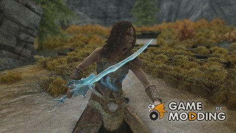 Guild Wars 2 Elemental Dragon Swords for TES V Skyrim