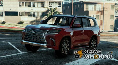 2016 Lexus LX570 for GTA 5