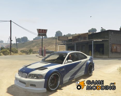 "BMW M3 GTR E46 ""Most Wanted"" для GTA 5"