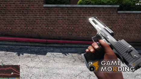 Desert Eagle (Chrome) for GTA 5