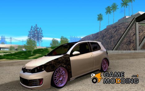 Volkswagen Golf VI German Rat для GTA San Andreas