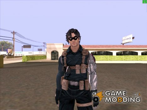 Winter Soldier classic (Marvel Database) для GTA San Andreas