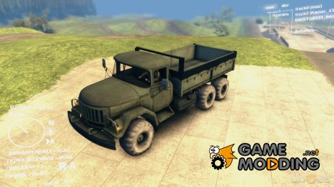 ЗиЛ 131 Бортовой for Spintires DEMO 2013