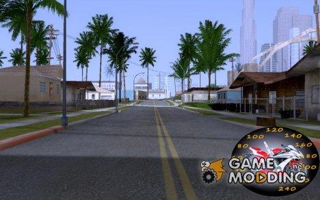 Speedometer moto v.2 for GTA San Andreas