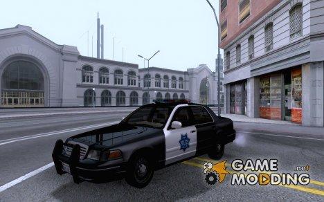 2003 Ford Victoria Copcar v2.0 для GTA San Andreas