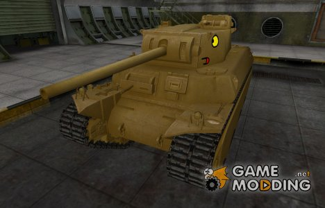 Мультяшный скин для T1 Heavy для World of Tanks