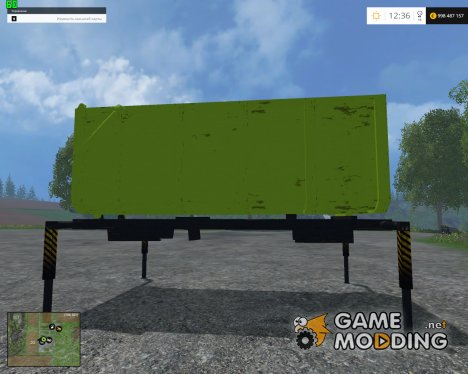 Absetzrahmen Mulde 54 v1.0 для Farming Simulator 2015