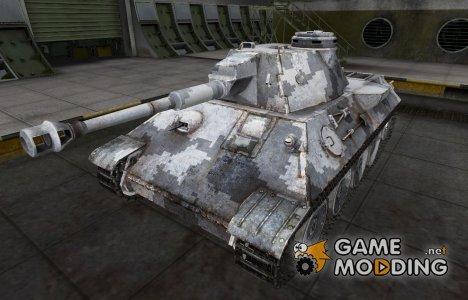 Камуфлированный скин для VK 30.02 (D) for World of Tanks