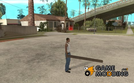 Русское бревно для GTA San Andreas