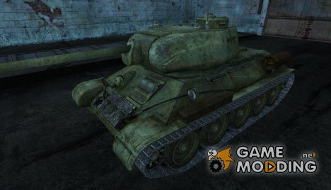 T-34-85 nafnish для World of Tanks
