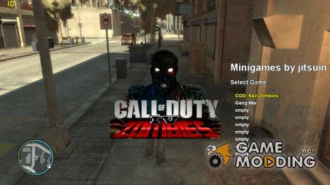 COD Nazi Zombies для GTA 4