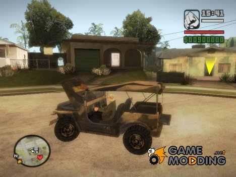 Iguana From Mercenaries 2 World in Flames для GTA San Andreas
