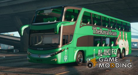 Al-Ahli F.C Bus for GTA 5