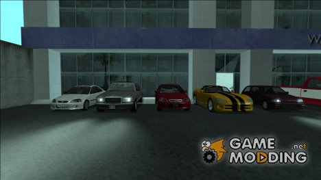Пак  оригинальных машин by Fox для GTA San Andreas