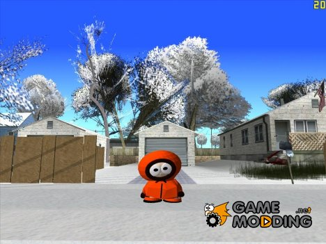 Kenny - персонаж из мультсериала South Park for GTA San Andreas