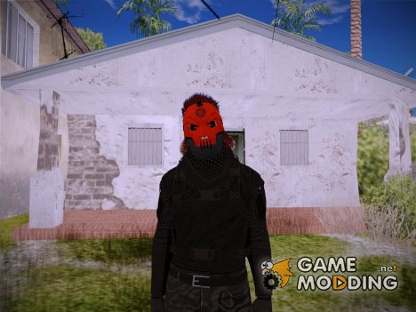 Red Mask from GTA V Online for GTA San Andreas