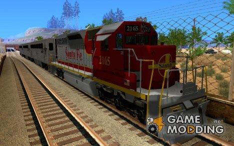SD40 Santa Fe for GTA San Andreas