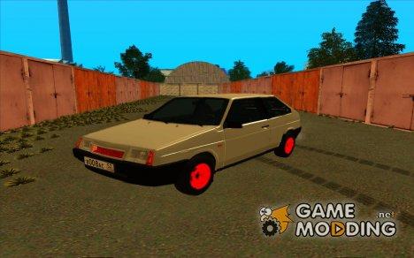 Ваз 2108 бандитка for GTA San Andreas