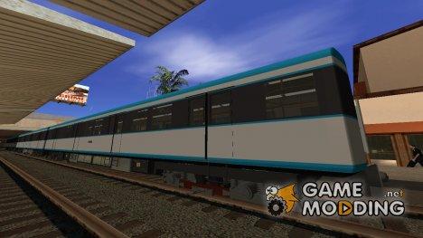 Метровагон типа 81-7021 (промежуточный) для GTA San Andreas