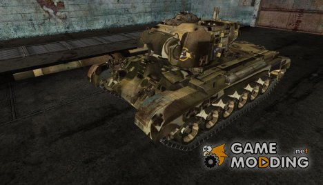 шкурка для M26 Parshing № 25 for World of Tanks