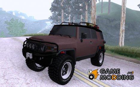 Toyota FJ Cruiser для GTA San Andreas
