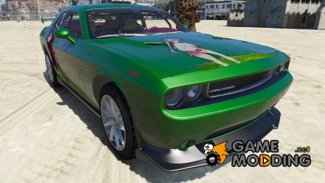 2012 Dodge Challenger SRT8 392 Racing 1.0 для GTA 5