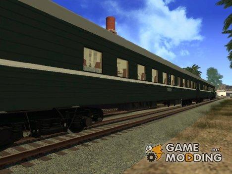 Плацкартный вагон for GTA San Andreas
