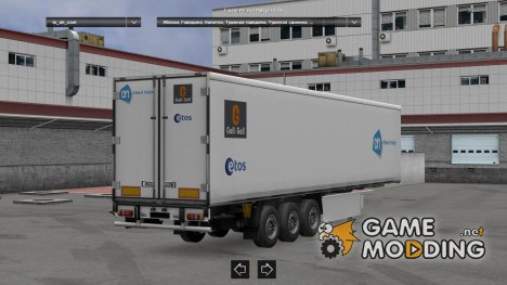 Dutch Supermarkets trailerpack  1.22.X для Euro Truck Simulator 2