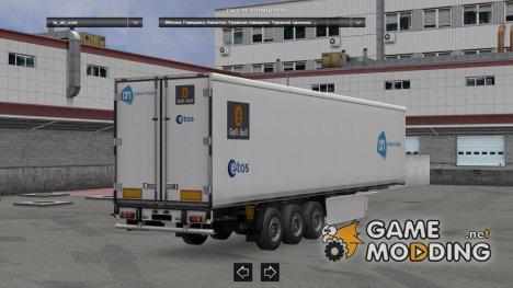 Dutch Supermarkets trailerpack  1.22.X для Euro Truck Simulator 2