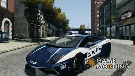 Lamborghini Gallardo LP570-4 Superleggera 2011 Police for GTA 4