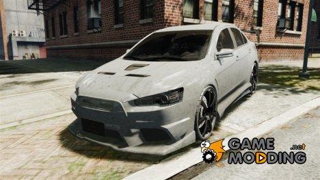 Mitsubishi Lancer Evolution X Tuning for GTA 4