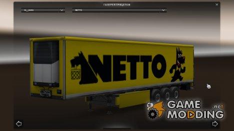 Автономный прицеп NETTO for Euro Truck Simulator 2