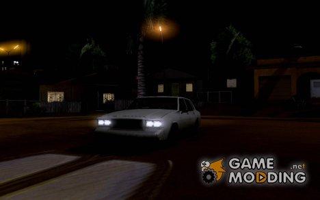 Галогенные фары для GTA San Andreas