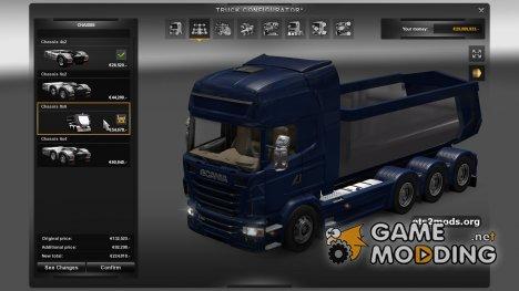 Scania Multi-Mod для Euro Truck Simulator 2