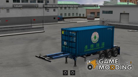 JBK 5 Containertrailer (MDM) for Euro Truck Simulator 2