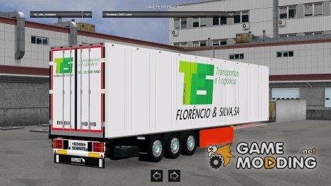 TFS Standalone Schmitz Trailer для Euro Truck Simulator 2