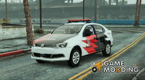 Volkswagen Voyage Polícia Civil de São Paulo (Brazilian) для GTA 5